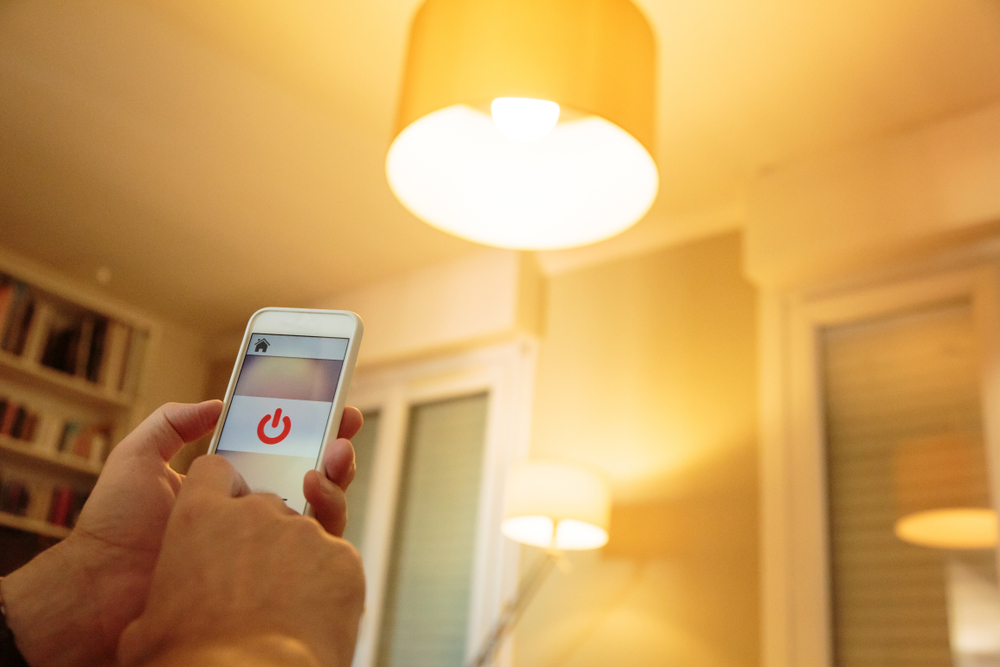 Smart bulbs normally have a corresponding smartphone app where you can have access to several lighting (and dimming) options